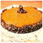 White Chocolate Pumpkin Cheesecake with Pecan Pie Crust
