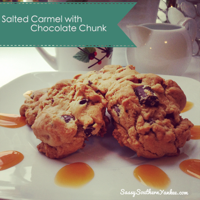 Salted Carmel with Chocolate Chunk