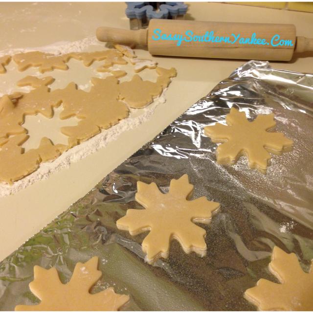 Cutout Almond Sugar Cookies