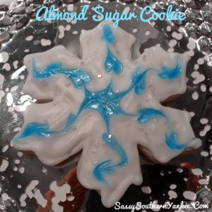 Almond Sugar Cookie