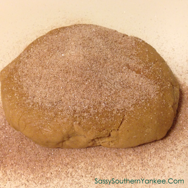 Brown Butter Snickerdoodle Dough