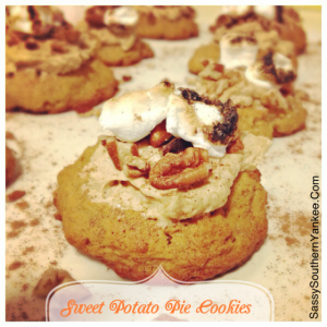 Sweet Potato Pie Cookies
