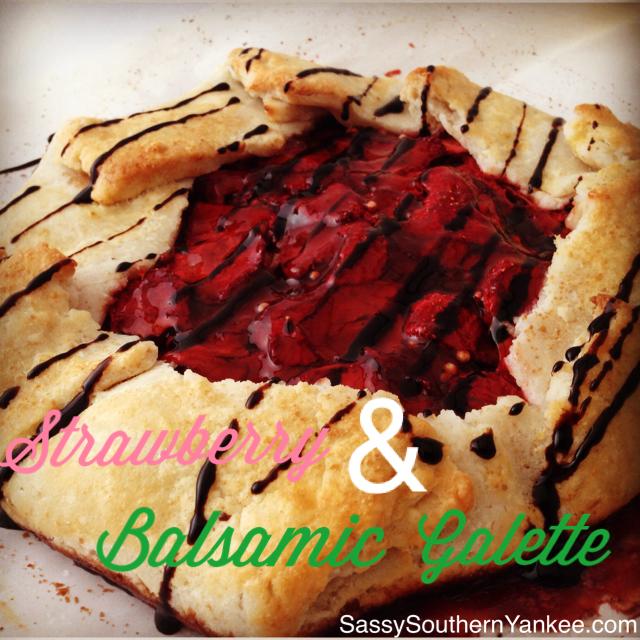 Strawberry & Balsamic Galette