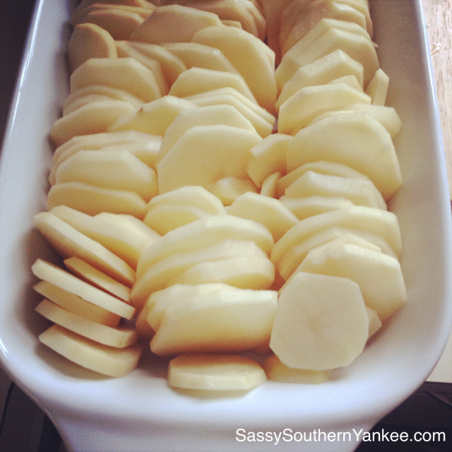 Really Good Scalloped Potatoes