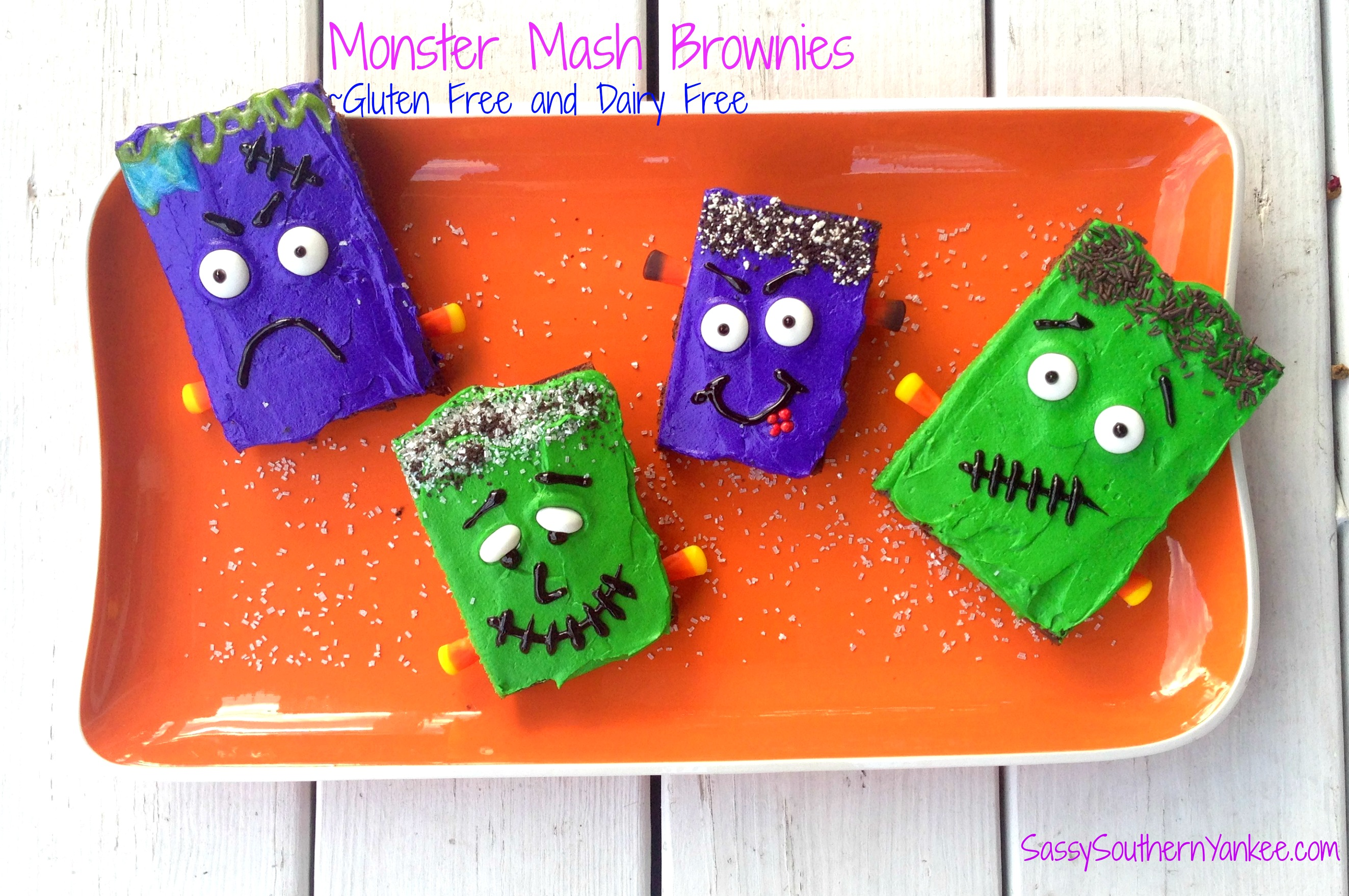 Monster Mash Brownie's from Sassy Southern Yankee
