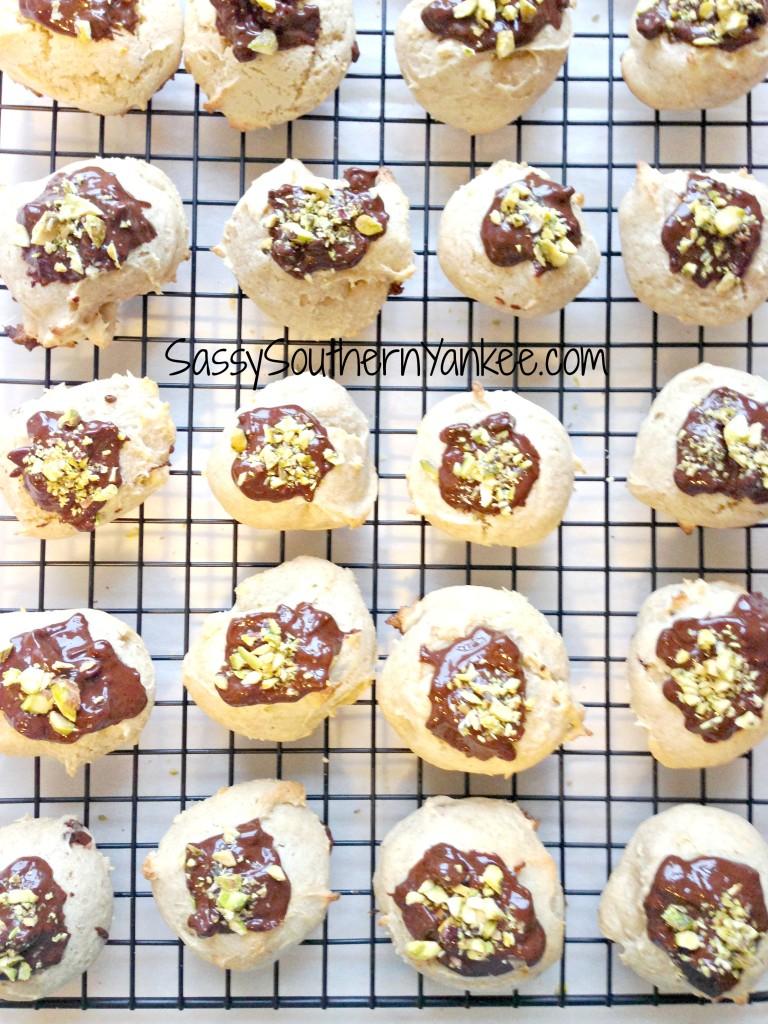 Gluten Free Cannoli Cookies with Dark Chocolate 3