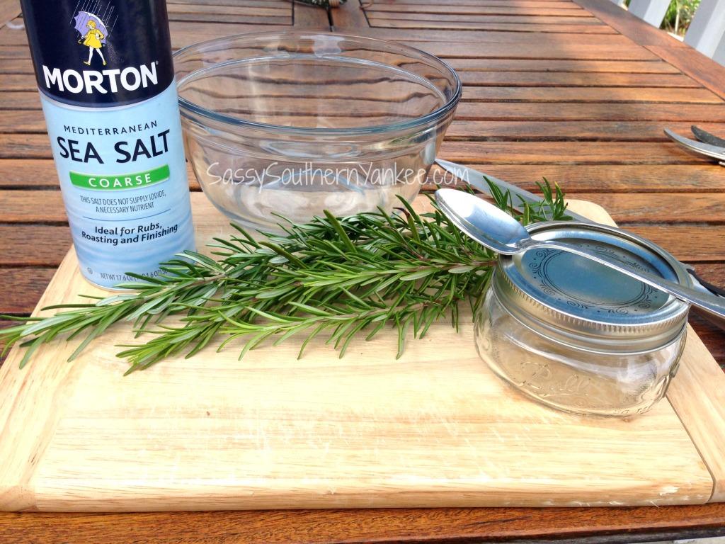 Rosemary Infused Sea Salt 1