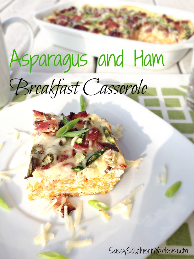 Asparagus and Ham Breakfast Casserole 5