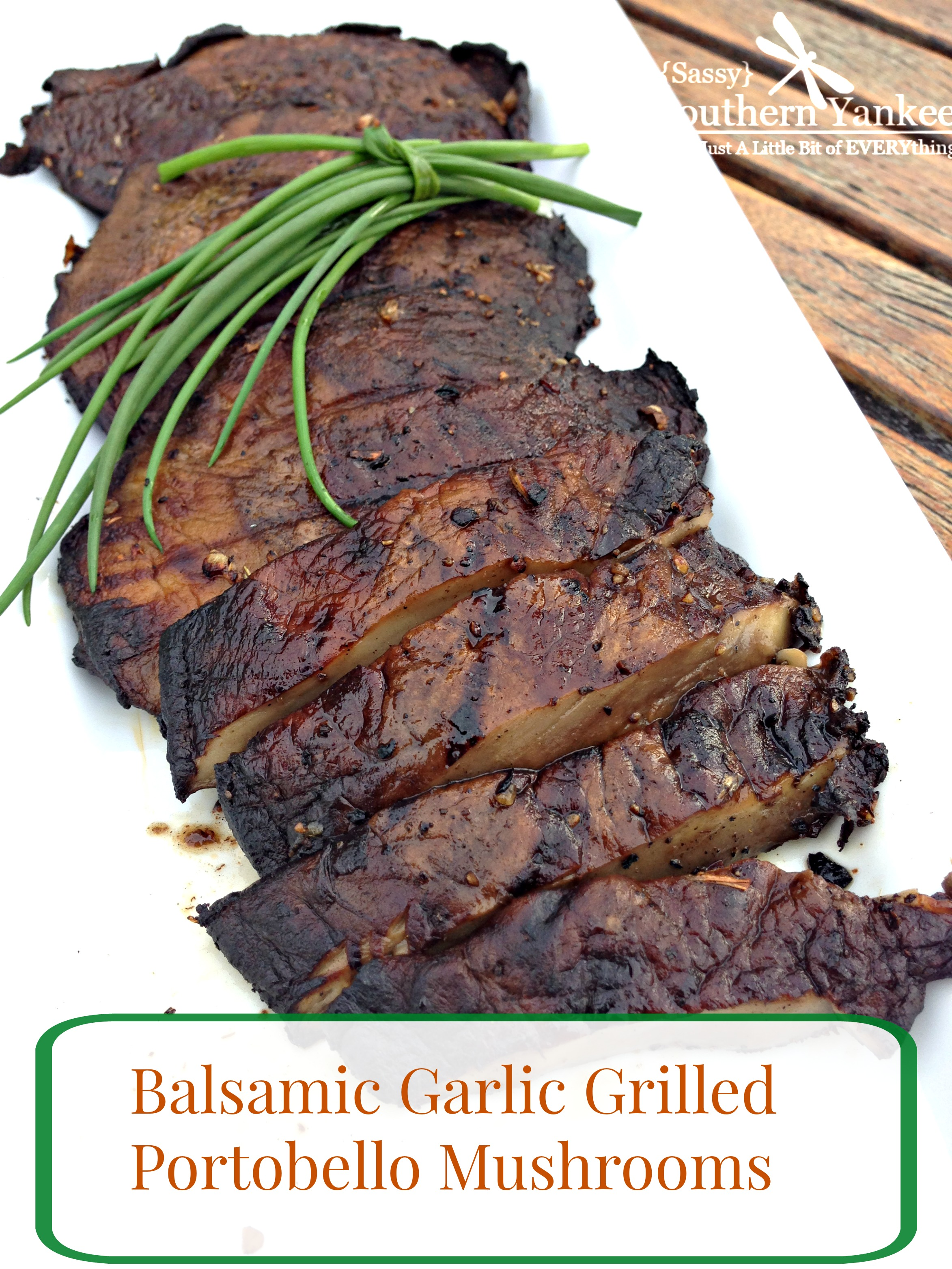 Grilled Portobello Mushrooms Recipe — Dishmaps