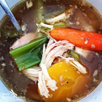 The Best Crock Pot No Noodle Chicken Soup 6