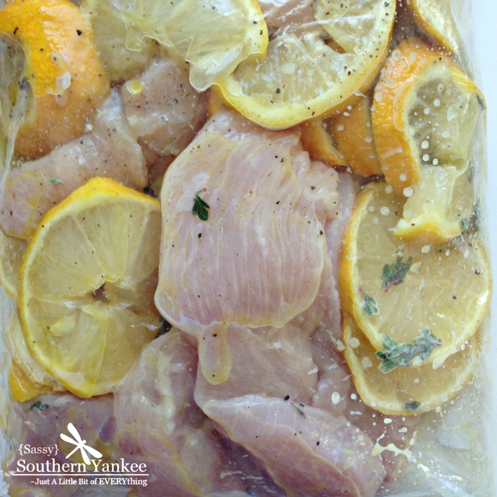 Lemon Rosemary Chicken Skewers - Sassy Southern Yankee