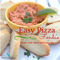 Pizza Fondue