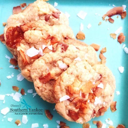 Aloha Cookies {Gluten Free}