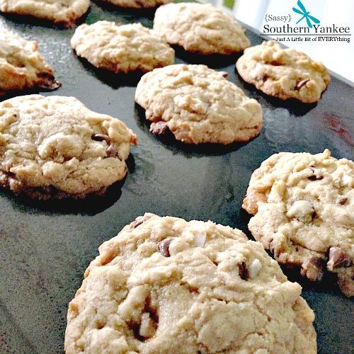 Aloha Cookies on a Cookie Sheet
