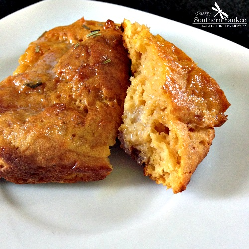 Rosemary Sweet Potato Dinner Rolls {Gluten Free} with butter